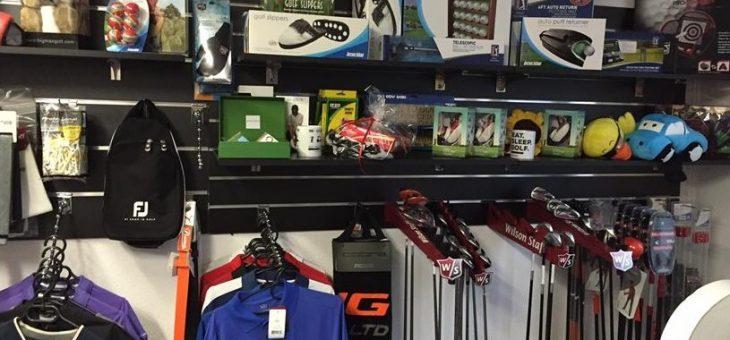 Reklama sklepu golfowego