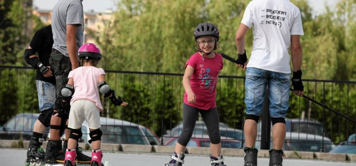 Nauka jazdy na rolkach w Krakowie