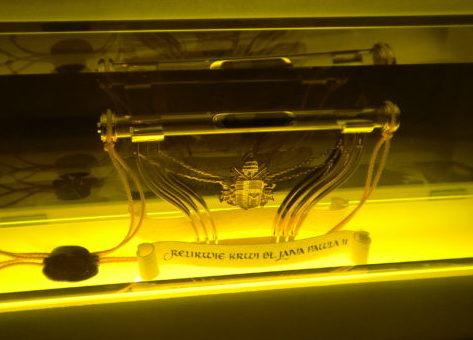 Relikwie Jana Pawła II - krew papieża polaka