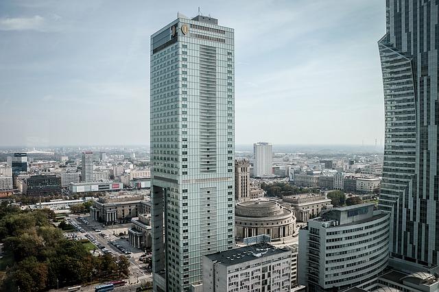 Sala konferencyjna w Centrum Warszawy